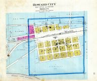 Howard City P.O., Howard County 1900